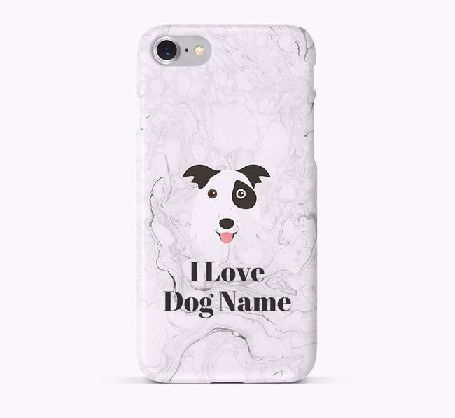 'I Love ' Phone Case with Border Collie Icon