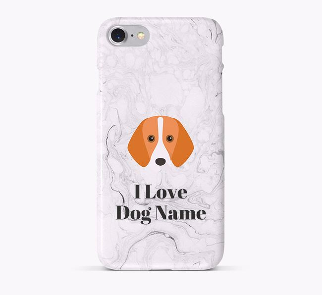 'I Love ' Phone Case with Foxhound Icon