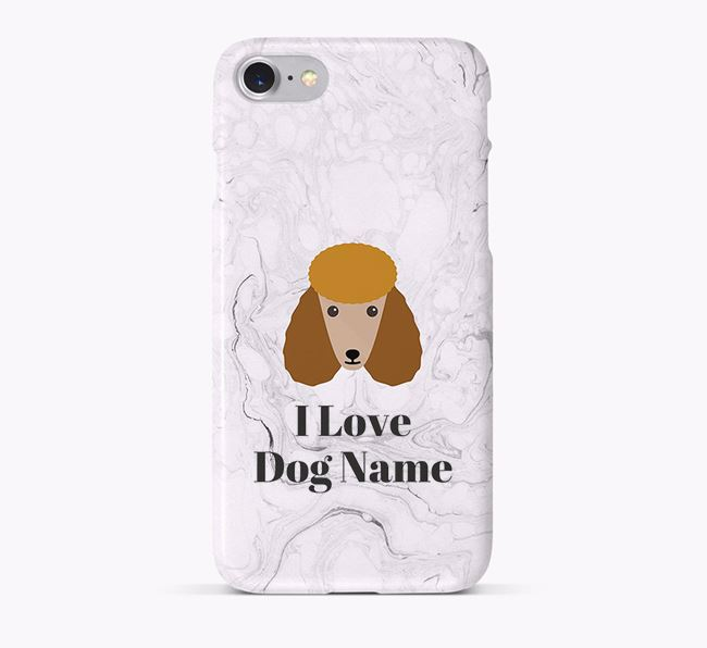 'I Love ' Phone Case with Poodle Icon