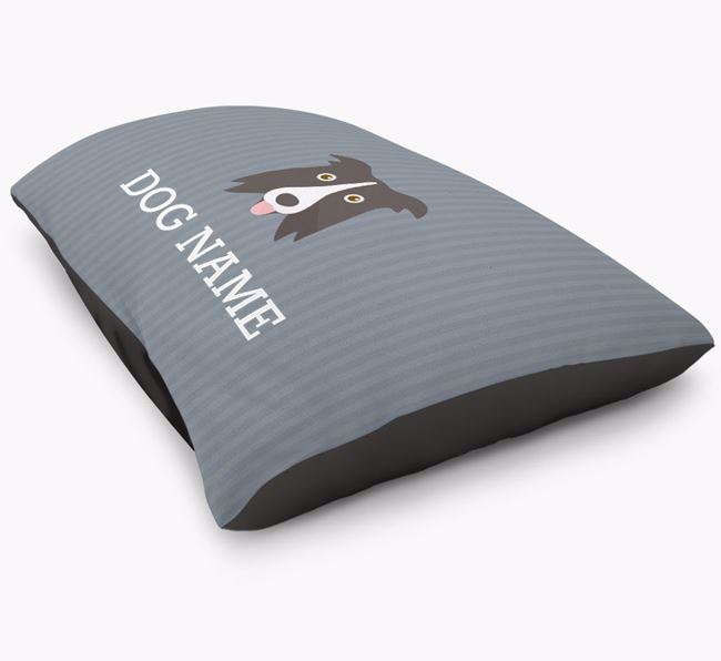 Personalised Border Collie Icon Bed for