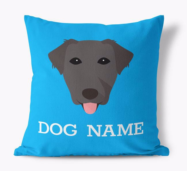Personalised Icon Canvas Cushion
