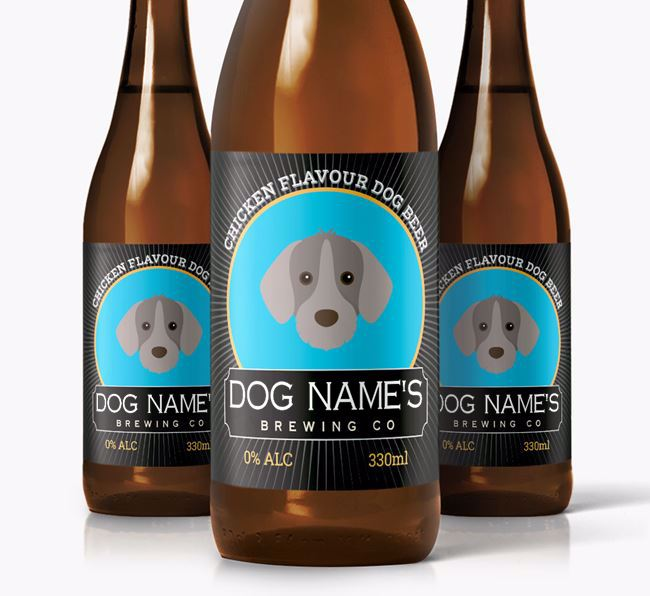 'Brewing Co.' Personalised Dog Beer