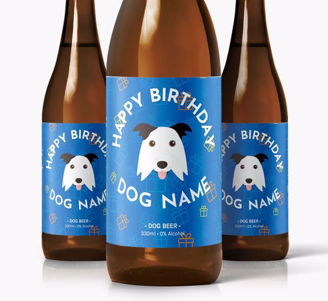 Personalised Birthday Beer for