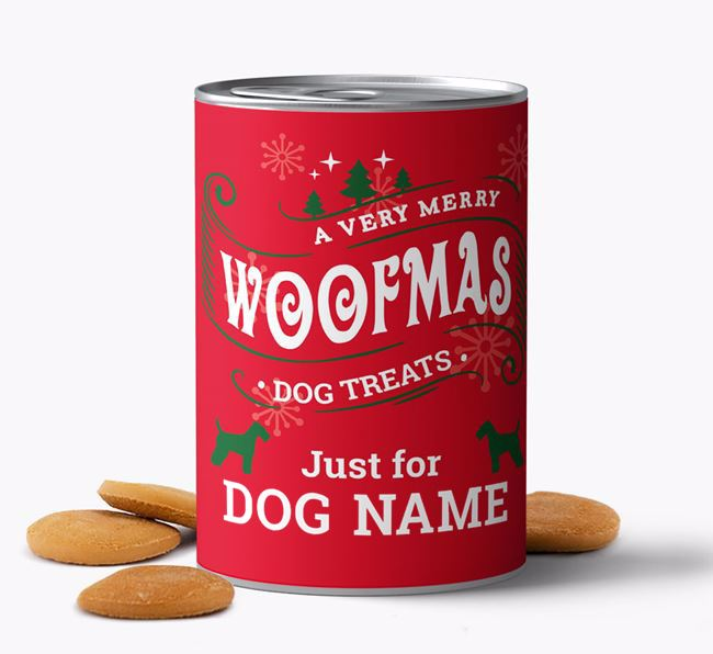 Hand Baked 'Merry Woofmas ' Biscuits