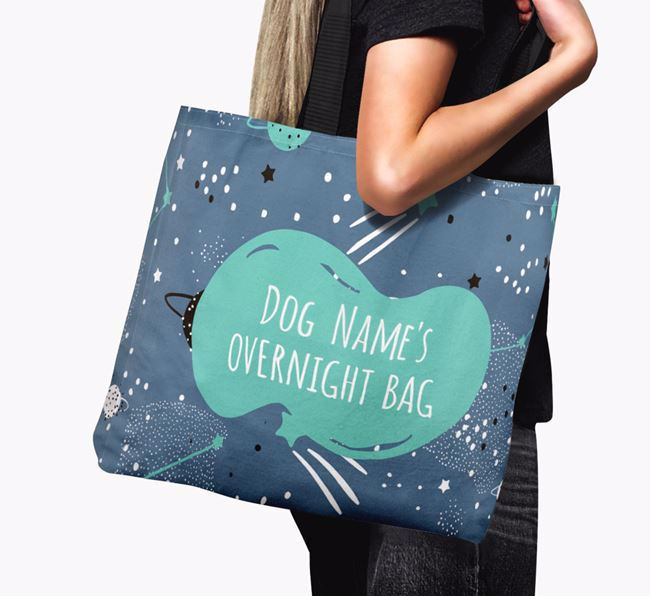 's Overnight Canvas Bag