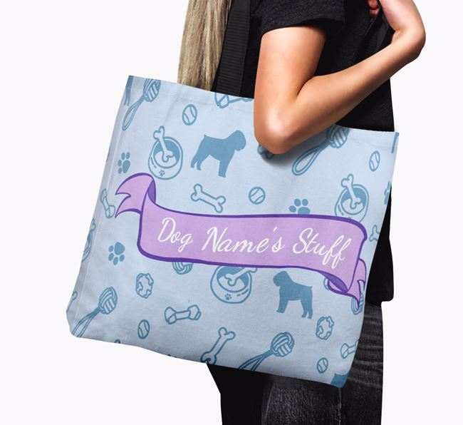 ''s Stuff' Canvas Bag