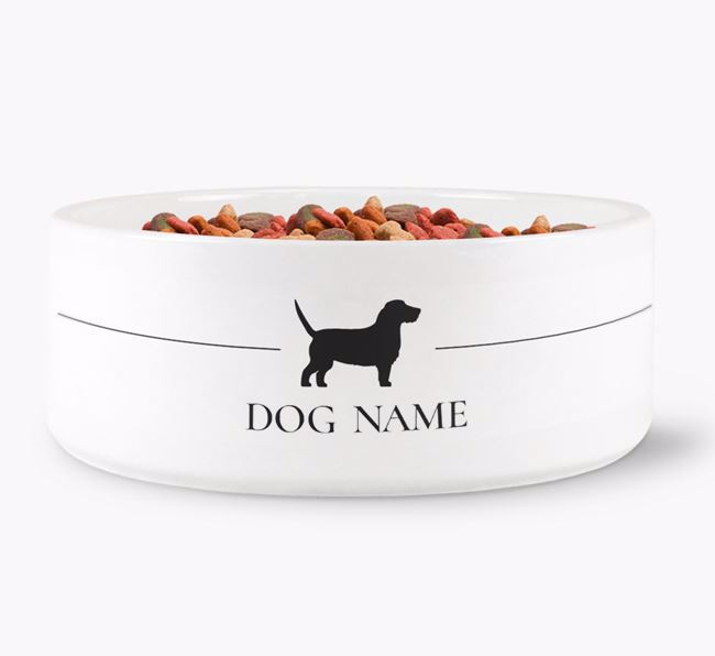 Personalised Basset Fauve Silhouette