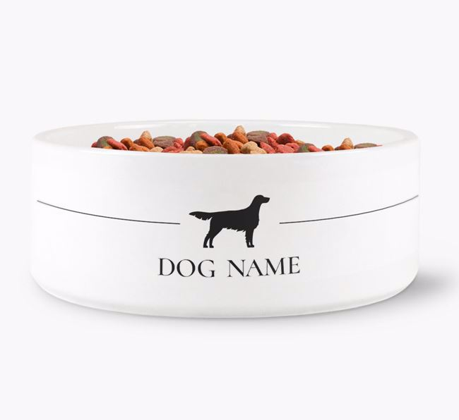 Personalised English Setter Silhouette