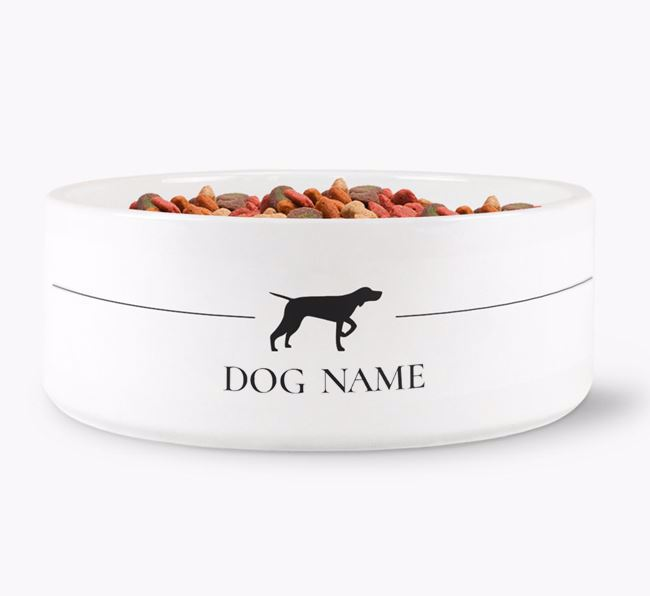 Personalised Pointer Silhouette
