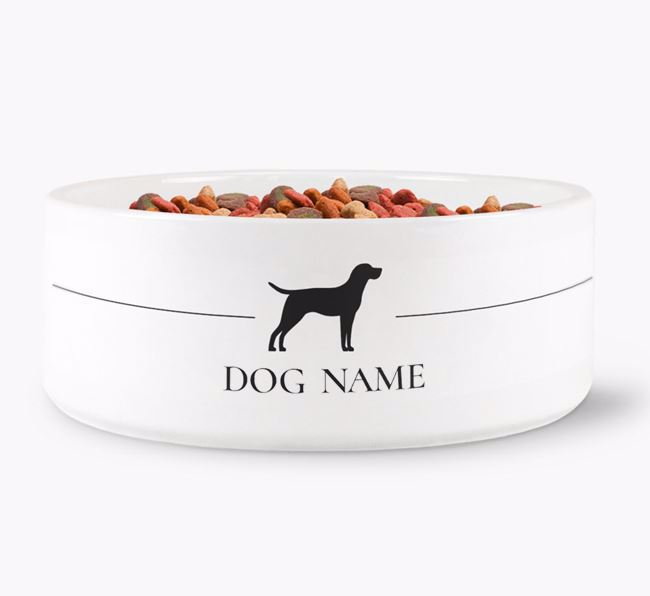 Personalised Portuguese Pointer Silhouette