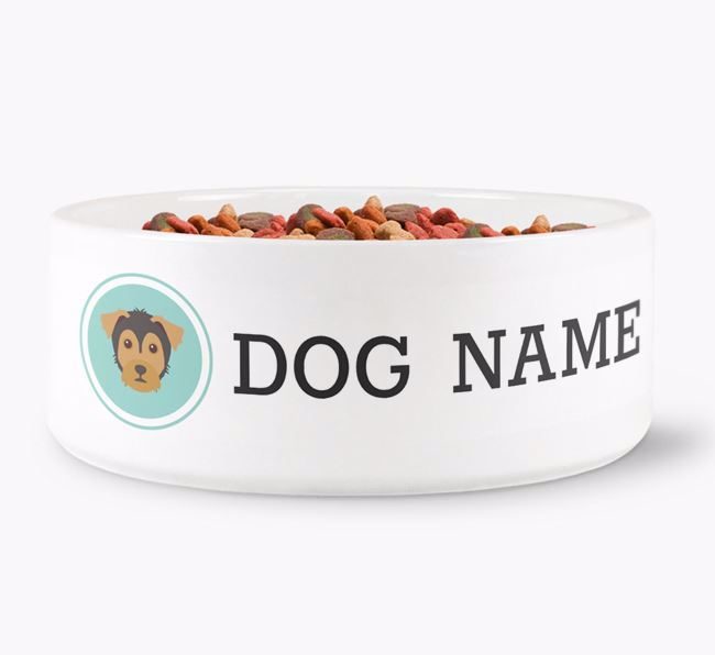 Personalised Dog Bowl for