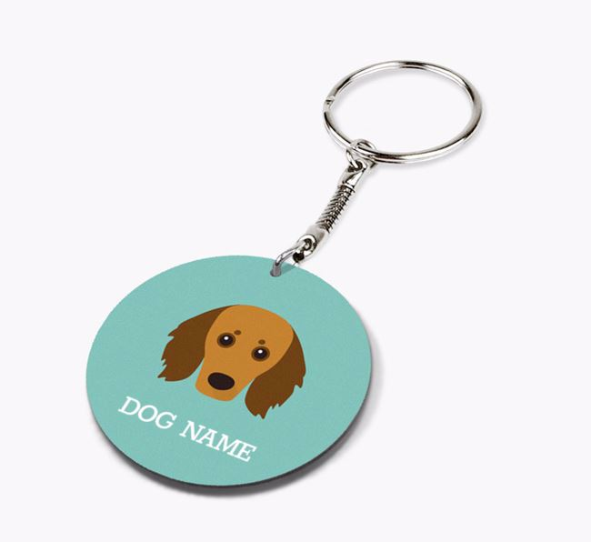 Personalised Doxiepoo Icon Keyring