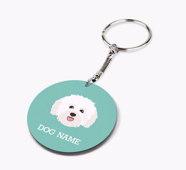 Personalised Havanese Icon Keyring