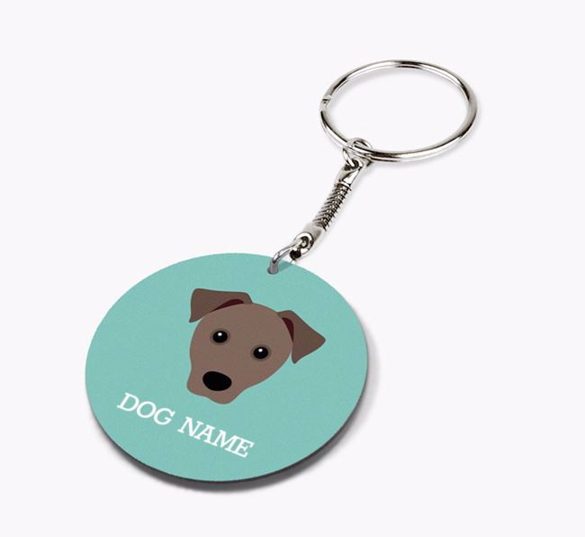 Personalised Mixed Breed Icon Keyring