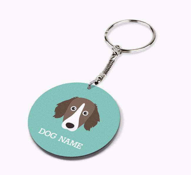 Personalised Sprollie Icon Keyring