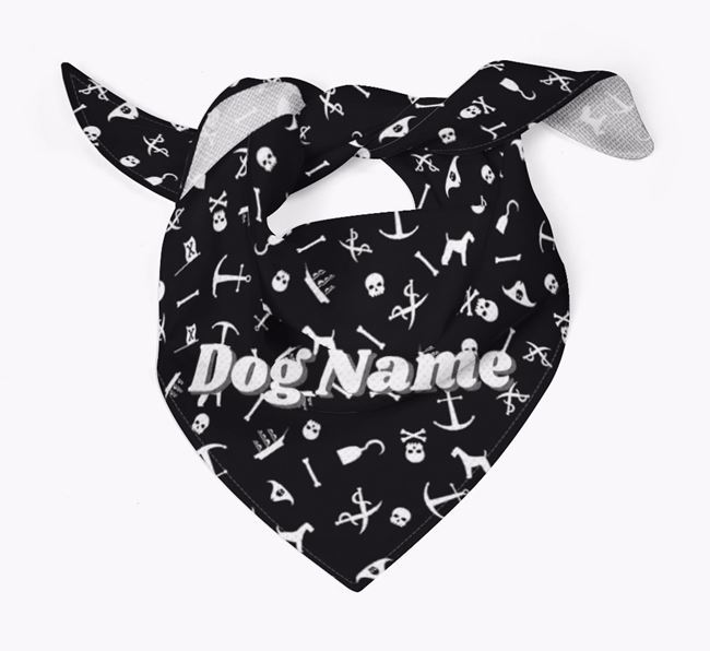 Pirate Dog Bandana