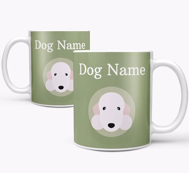 Personalised Bedlington Terrier Mug