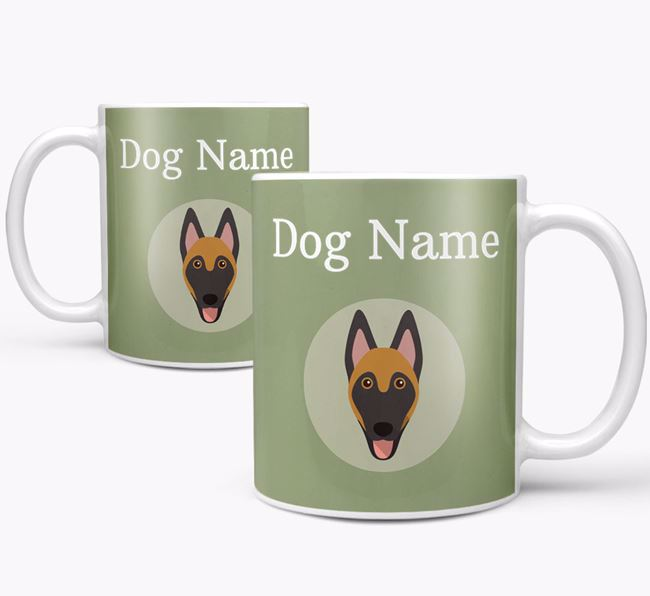 Personalised Belgian Malinois Mug