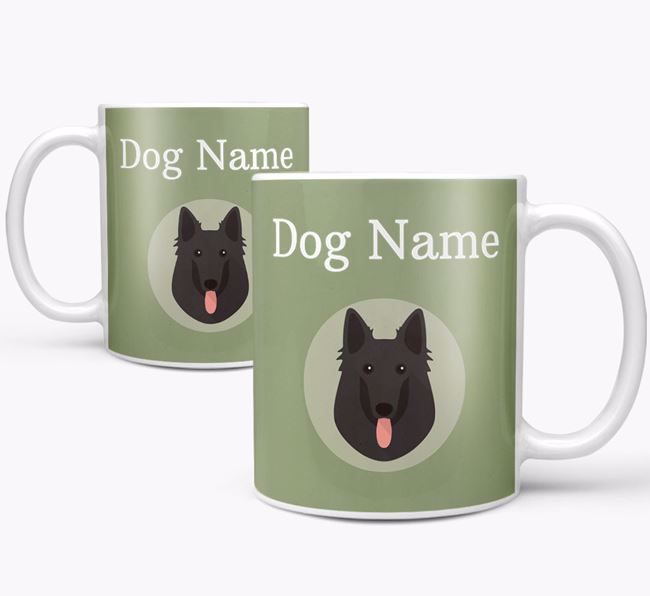 Personalised Belgian Shepherd Mug