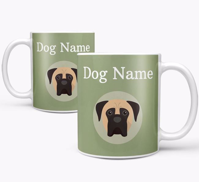Personalised Boerboel Mug