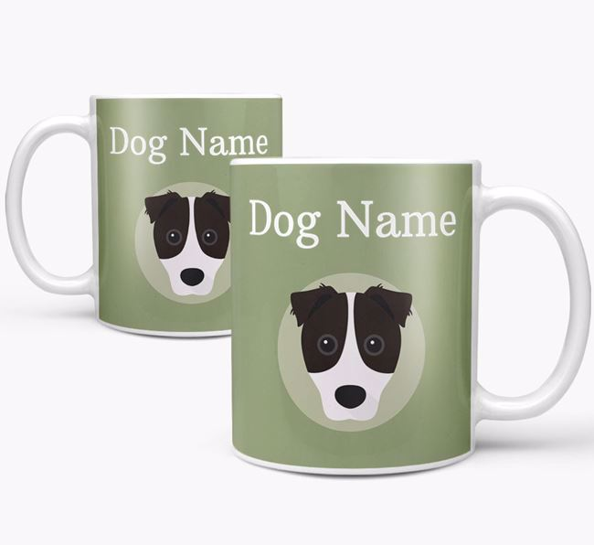 Personalised Border Jack Mug