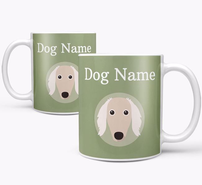 Personalised Borzoi Mug