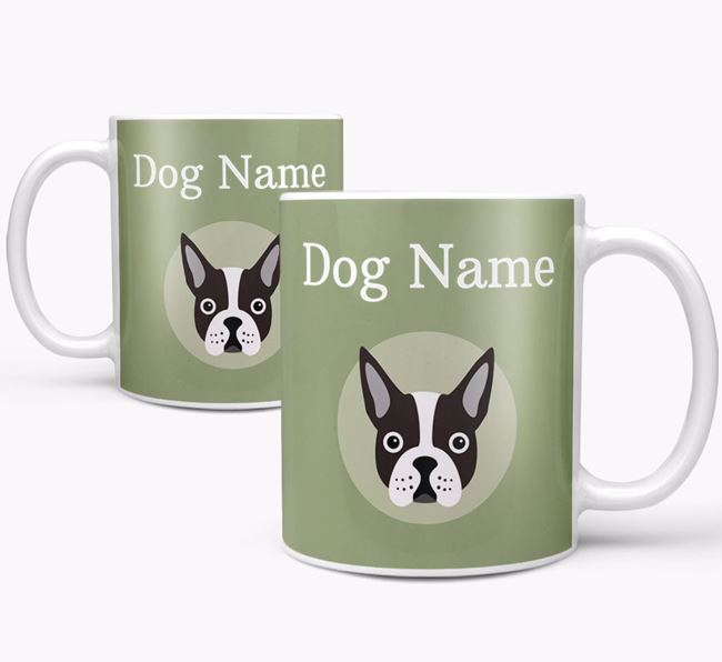 Personalised Boston Terrier Mug
