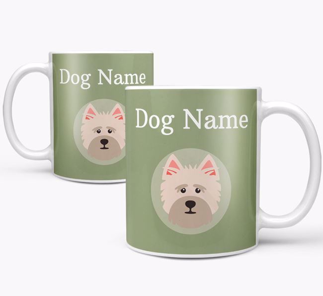 Personalised Cairn Terrier Mug