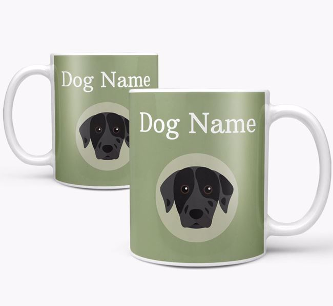 Personalised Catahoula Leopard Dog Mug