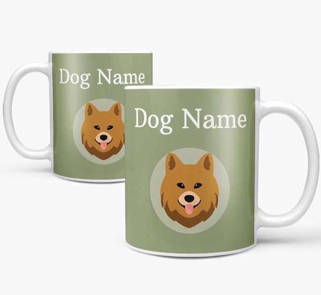Personalised Chow Shepherd Mug