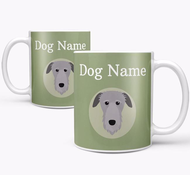 Personalised Deerhound Mug