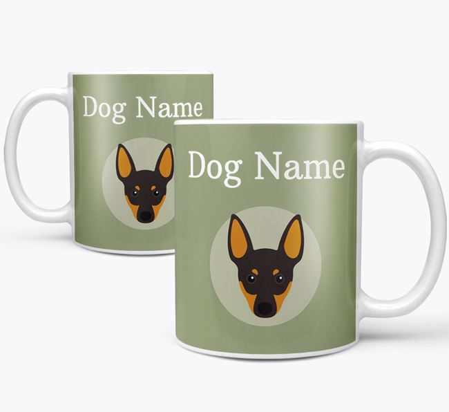 Personalised English Toy Terrier Mug
