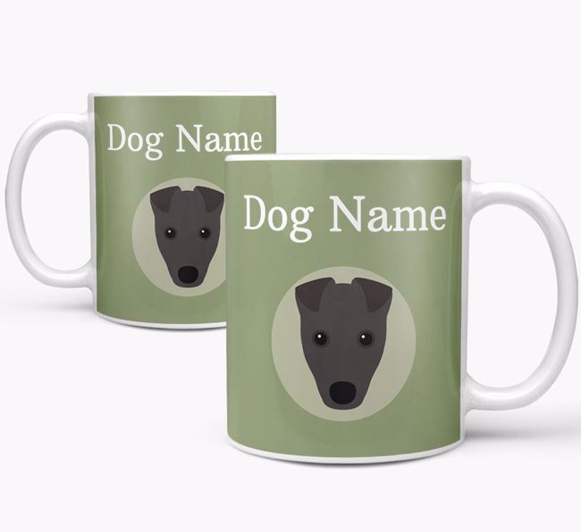Personalised Fox Terrier Mug
