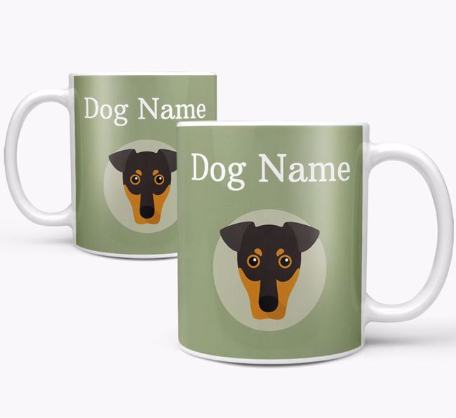 Personalised German Pinscher Mug