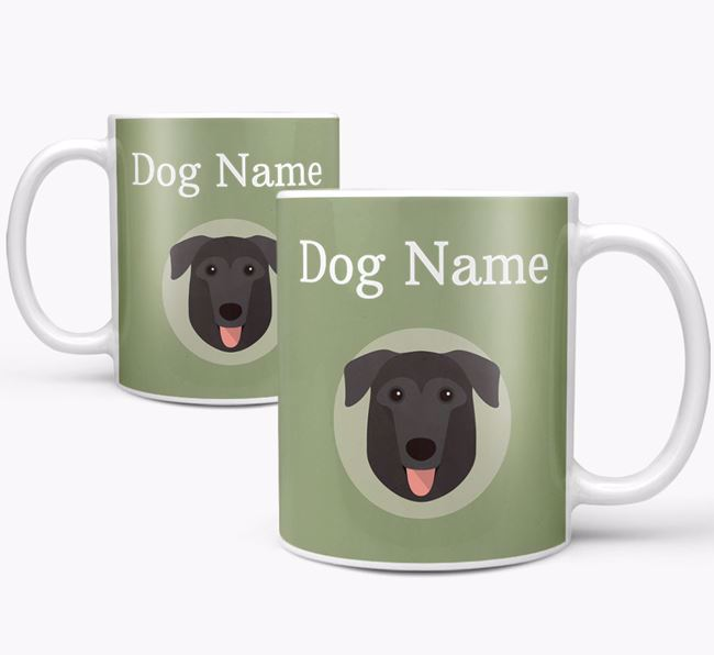 Personalised German Sheprador Mug