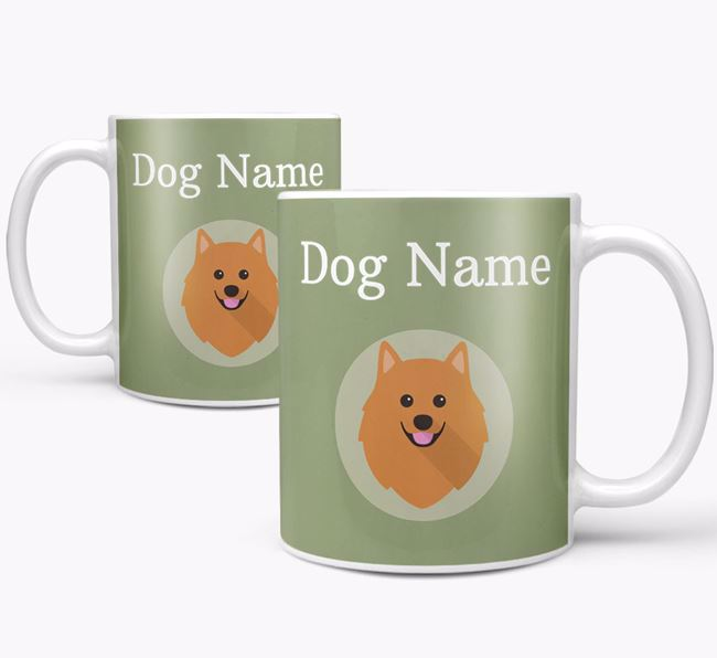Personalised German Spitz Mug