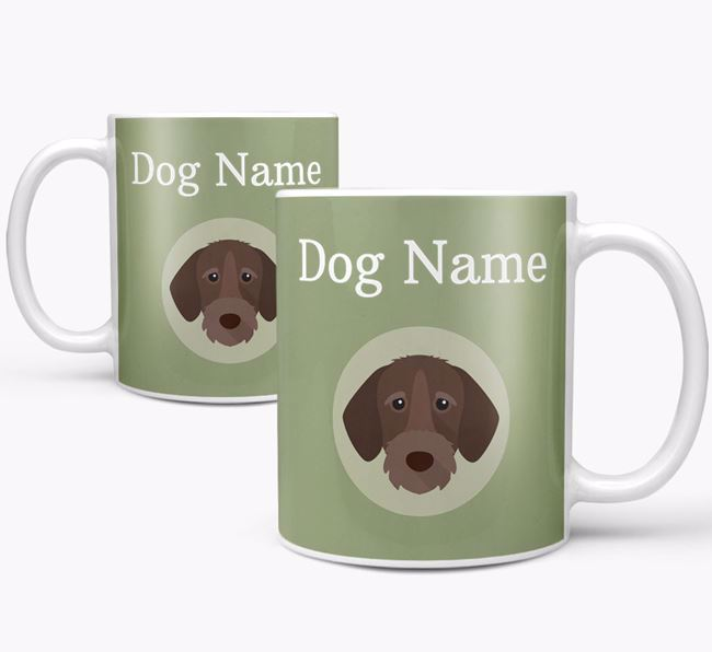 Personalised German Wirehaired Pointer Mug