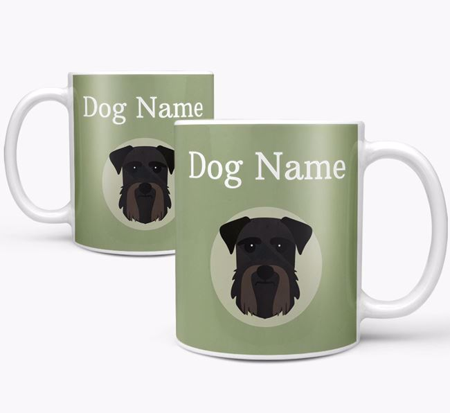 Personalised Giant Schnauzer Mug