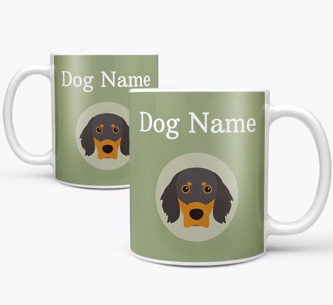 Personalised Gordon Setter Mug
