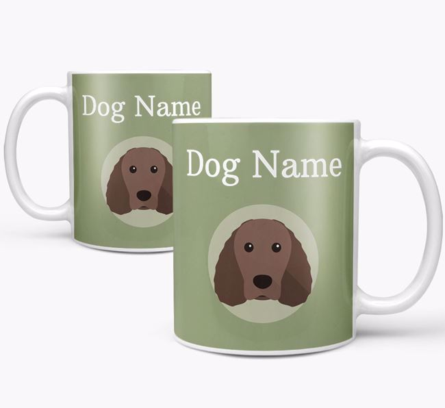 Personalised Irish Water Spaniel Mug