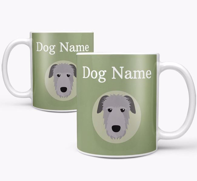 Personalised Irish Wolfhound Mug