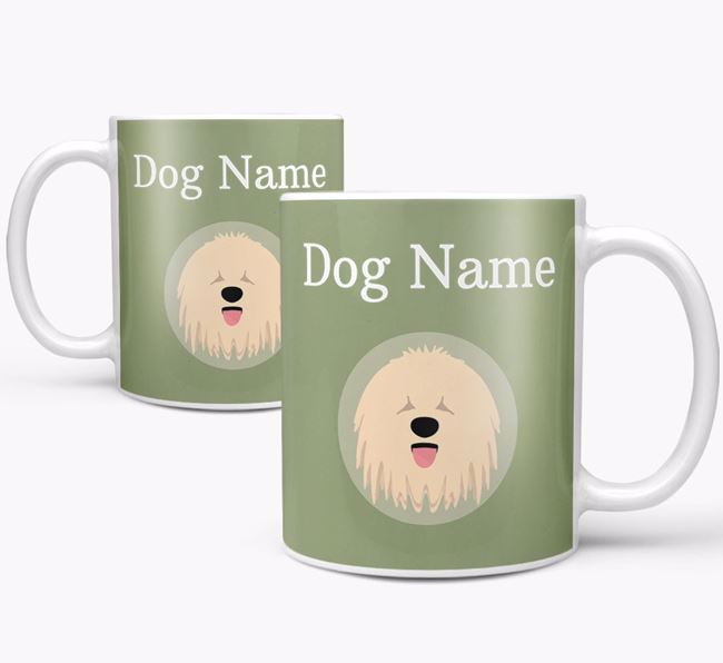 Personalised Komondor Mug