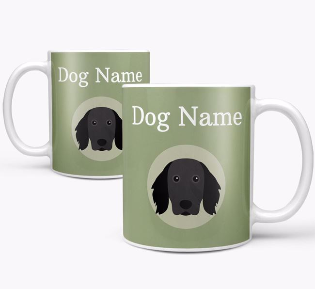 Personalised Large Munsterlander Mug
