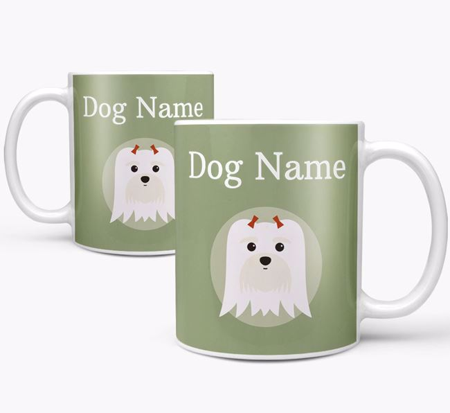 Personalised Maltese Mug