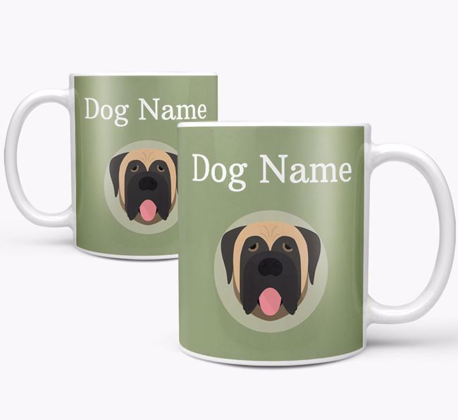 Personalised Mastiff Mug