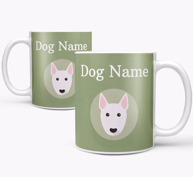 Personalised Miniature Bull Terrier Mug