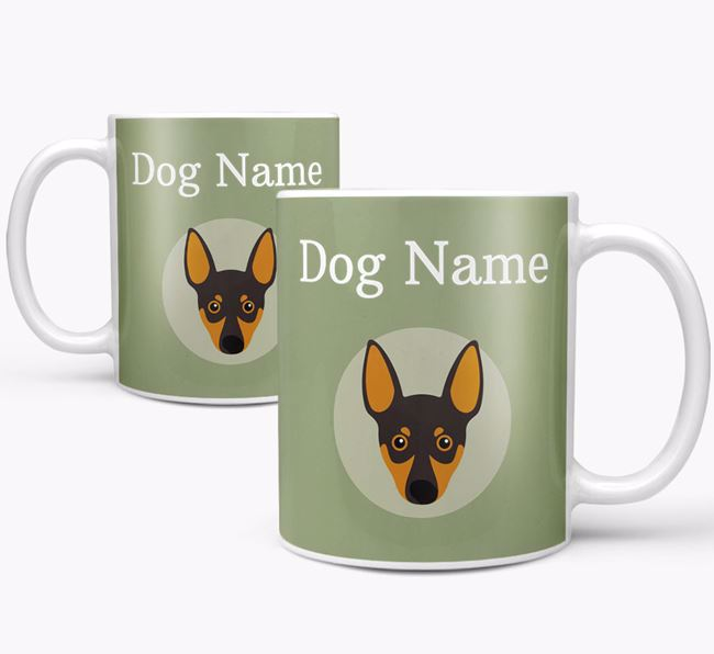 Personalised Miniature Pinscher Mug