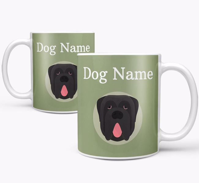 Personalised Neapolitan Mastiff Mug