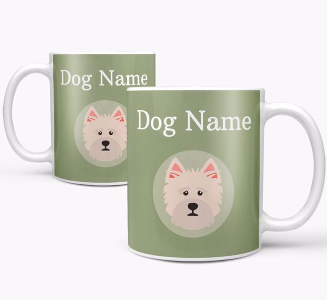 Personalised Norfolk Terrier Mug