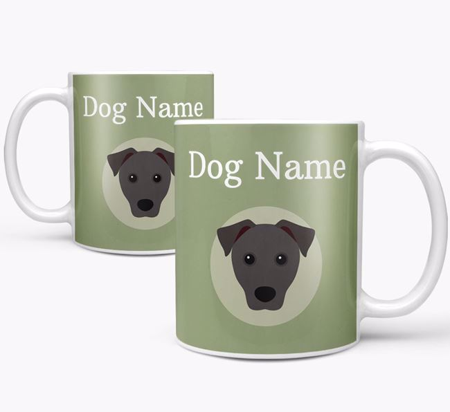 Personalised Patterdale Terrier Mug
